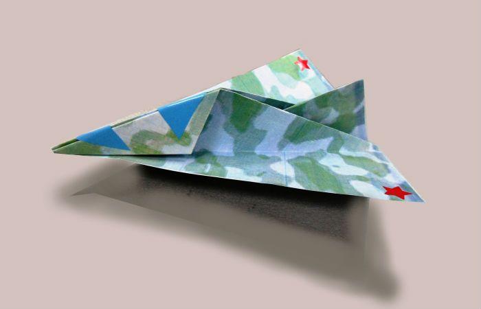 Бомбардировщик Т-4 из бумаги
