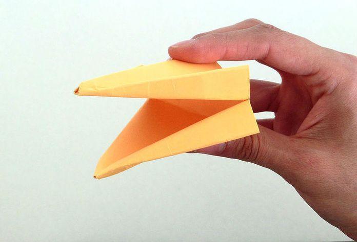 Оригами вороний клюв