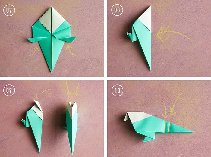 Сборка птицы на базе воздушного змея: схема 3