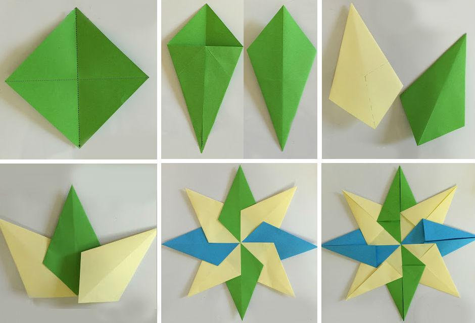 Схема сборки звезды