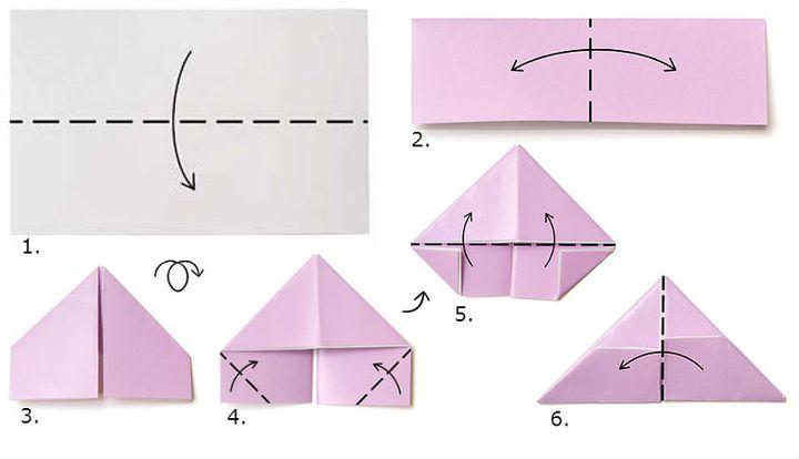 Пошаговая инструкция для изготовления модуль-треугольника