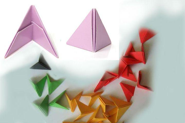 Треугольник для модульного оригами