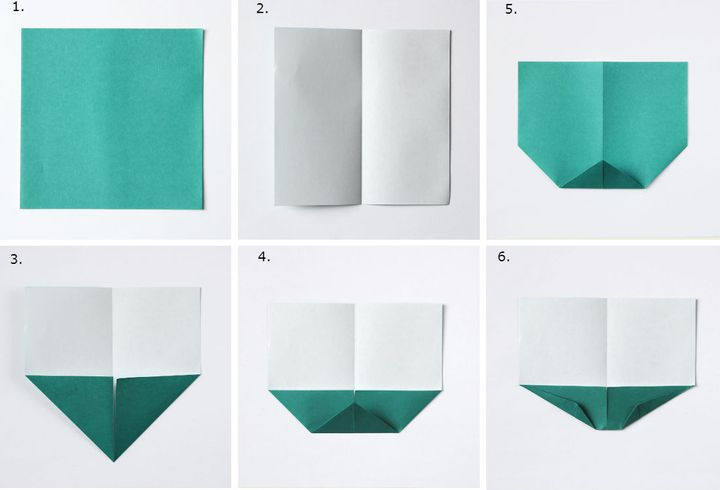 Пошаговая инструкция оригами цыплята