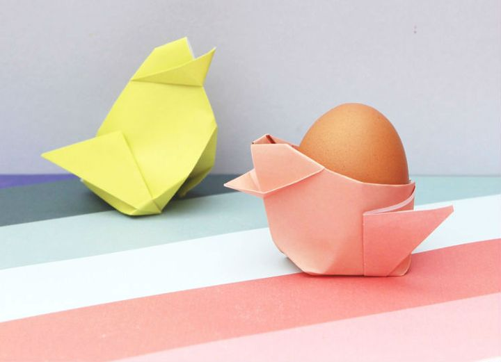 Оригами цыплята