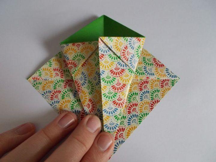 Корзина-оригами