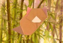 """Оригами """"Малая панда"""""""