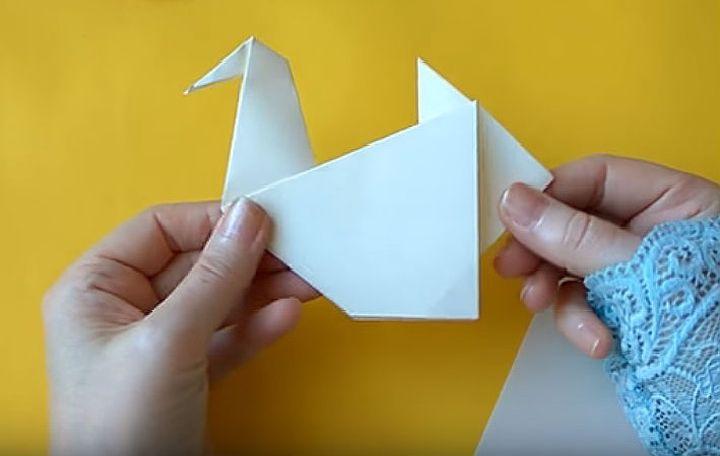 Оригами-чайка