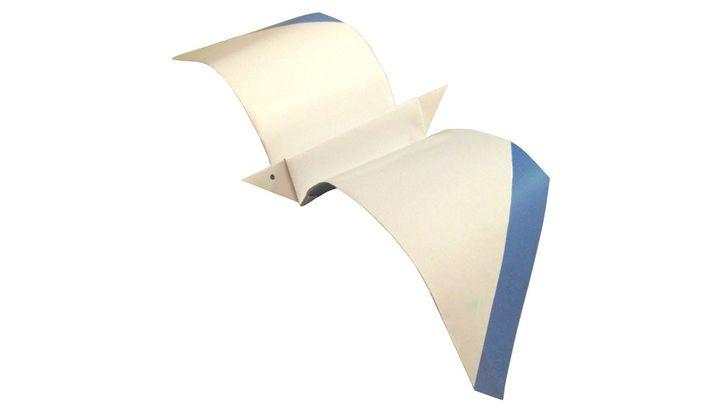 Оригами-подвеска Чайка
