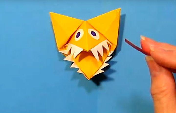 Оригами «Кусака»