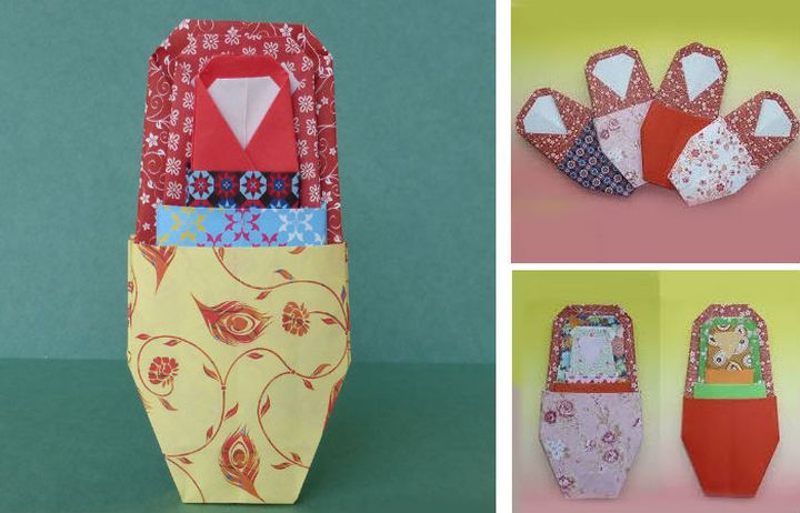Оригами-матрешка