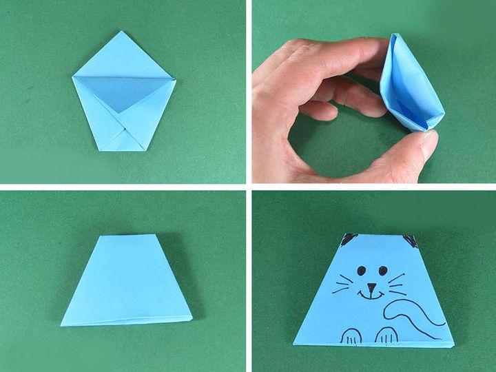 Пошаговая инструкция изготовления оригами Манэки-нэко