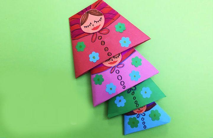 Матрешка-оригами