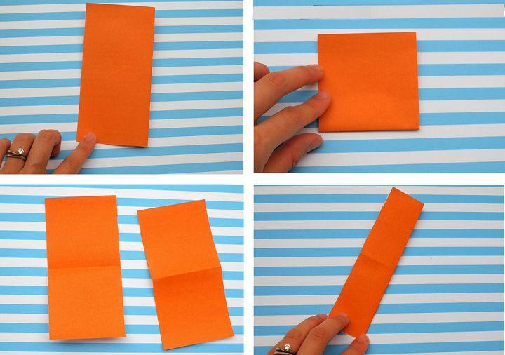 Сборка легкой модели оригами-мороженое
