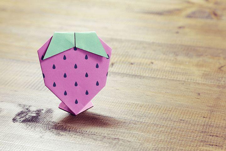 Оригами-фрукты