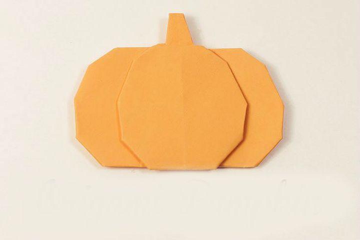 Оригами-тыква