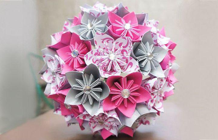 Шары-оригами из кусудамы