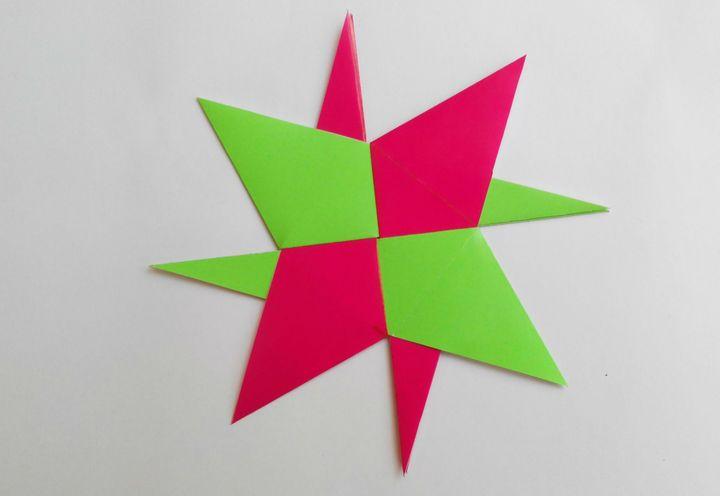 Пошаговая инструкция по сборке геометрической фигуры в технике оригами