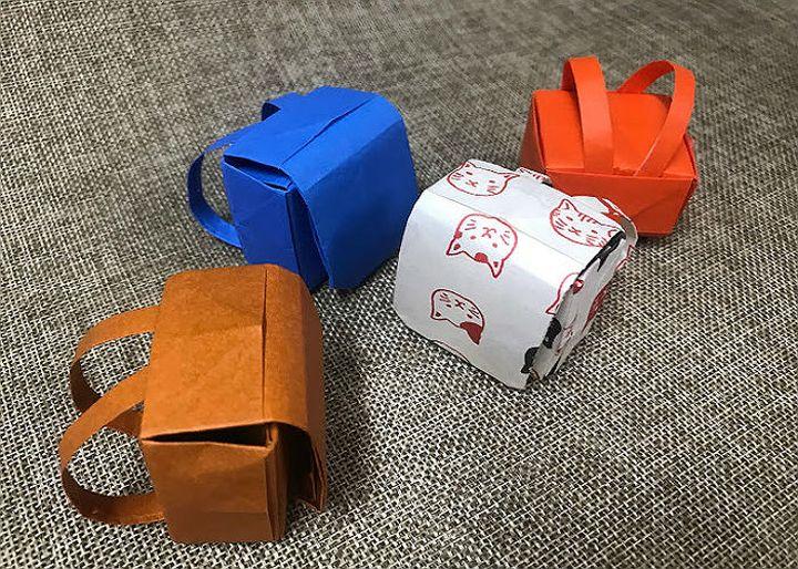 Пошаговая инструкция по сборке школьного рюкзака в технике оригами