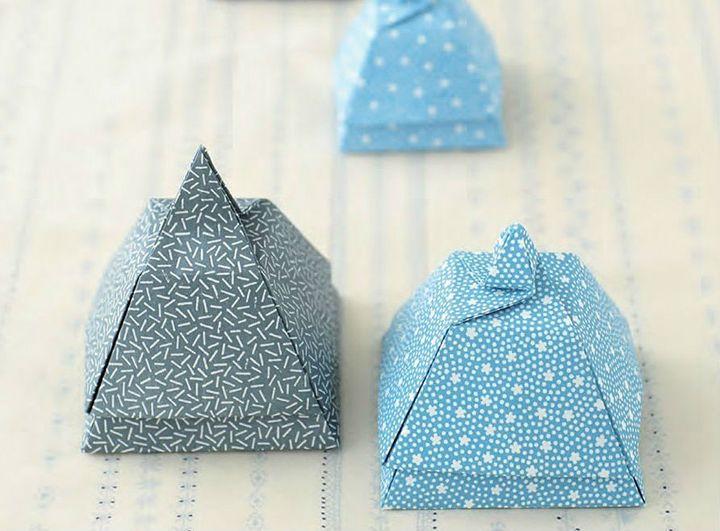 Шкатулка-оригами