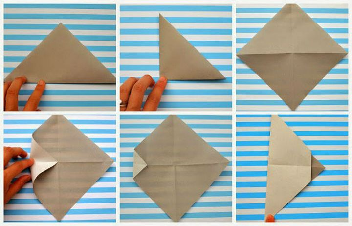"""Поэтапная сборка оригами """"Маска"""""""