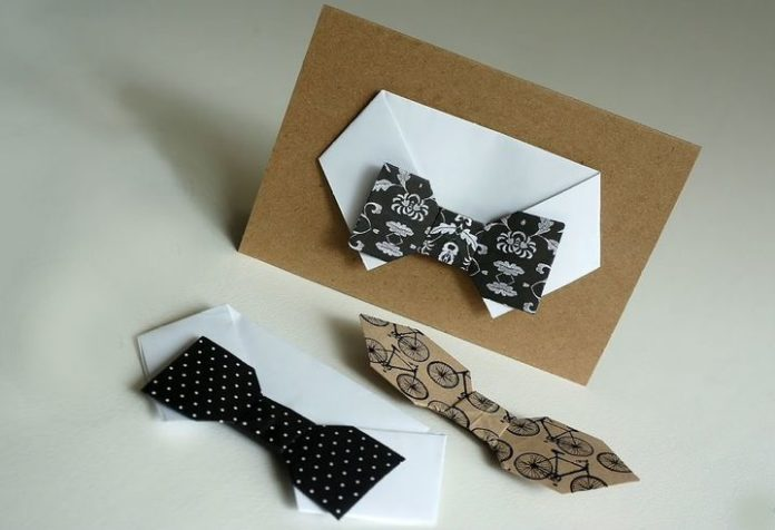 Оригами для папы