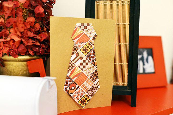 Оригами-галстук