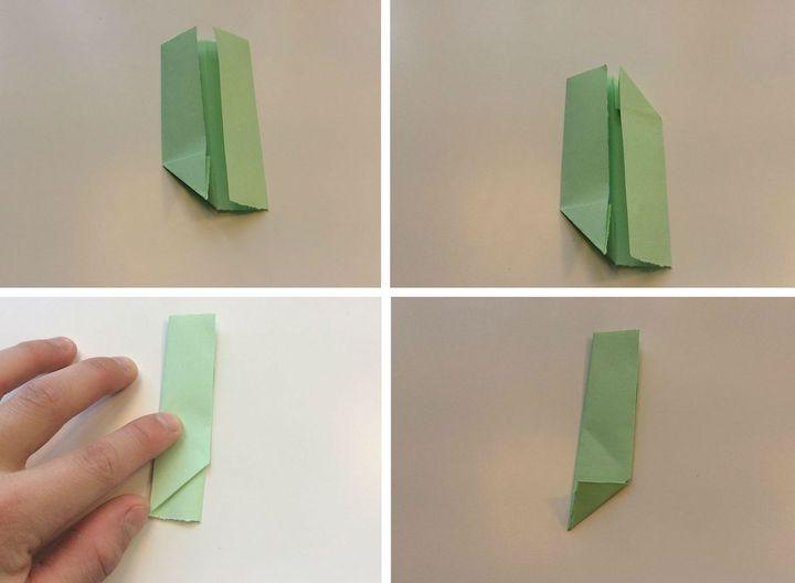 Пошаговая инструкция по сборке модульного оригами-бумеранга