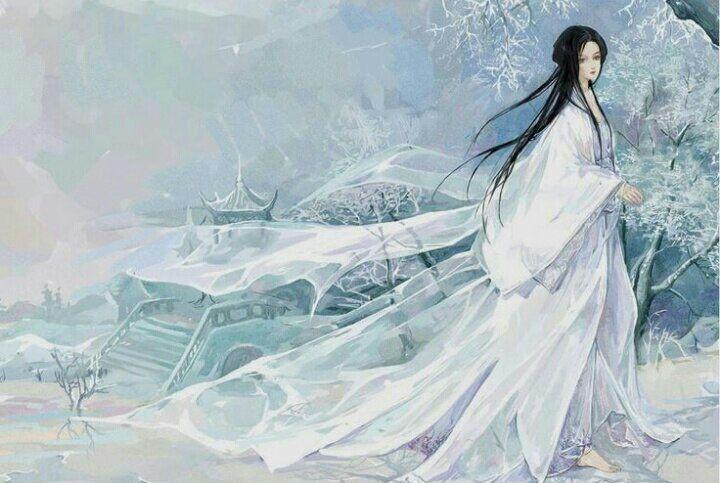 Юки-онна - японская Снегурочка
