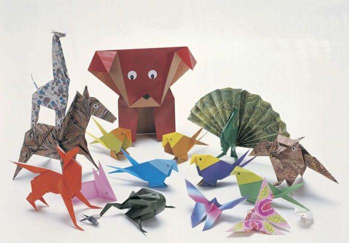 Оригами зоопарк
