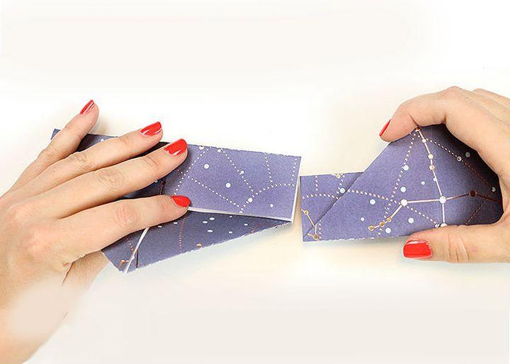 Пошаговая сборка античной модели оригами-короны