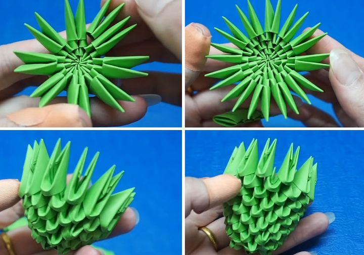 Мастер-класс по изготовлению модульного оригами «Цветок»