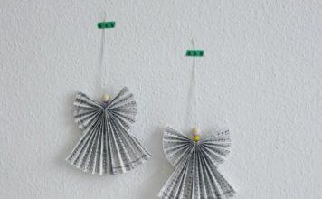 Мастер-класс по изготовлению оригами-ангела в виде елочной игрушки