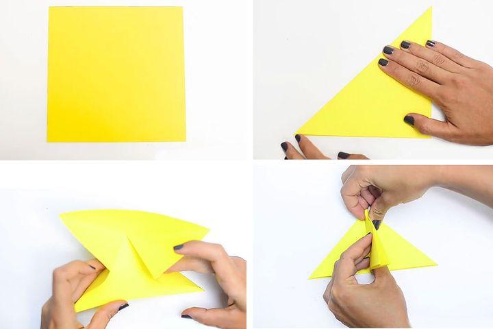 Мастер-класс по сборке популярного Пикачу-куба в технике оригами