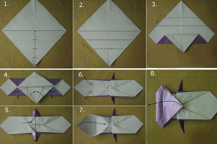 Мастер-класс по изготовлению реалистичной модели оригами-зайца
