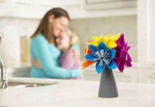 Букет-кусудамы в технике оригами