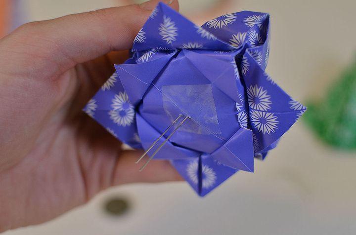 Мастер-класс по сборке простой модели оригами-лотоса