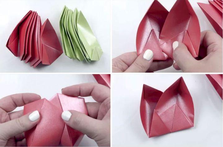 Мастер-класс по сборке модульного оригами-лотоса