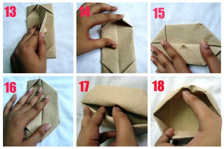 Мастер-класс по сборке подарочной коробочки с лотосом в технике оригами