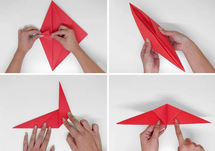 Мастер-класс по сборке Петушка в технике оригами
