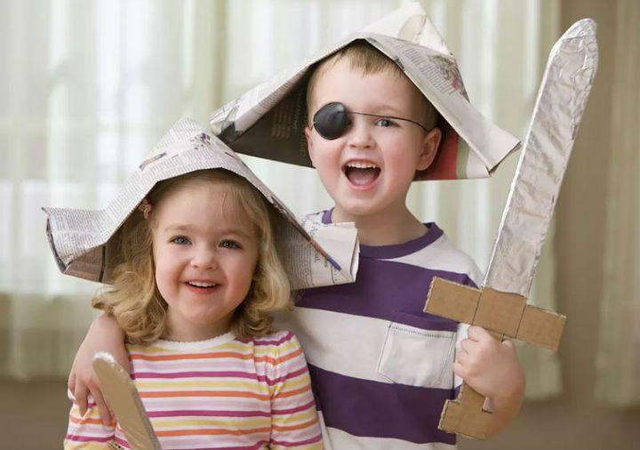 Мастер-класс по изготовлению пиратской шляпы из газеты