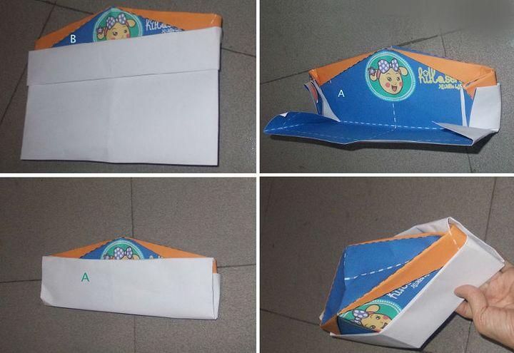 """Мастер-класс по изготовлению оригами-пилотки """"Ганди"""""""