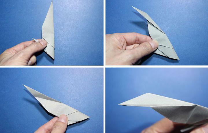 Мастер-класс по сборке оригами-акулы от Роберта Лэнга