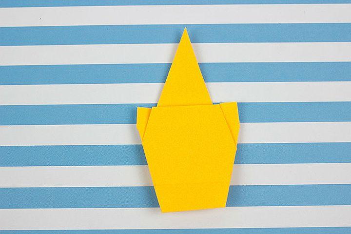 Мастер-класс по изготовлению простой модели оригами-единорога для детей