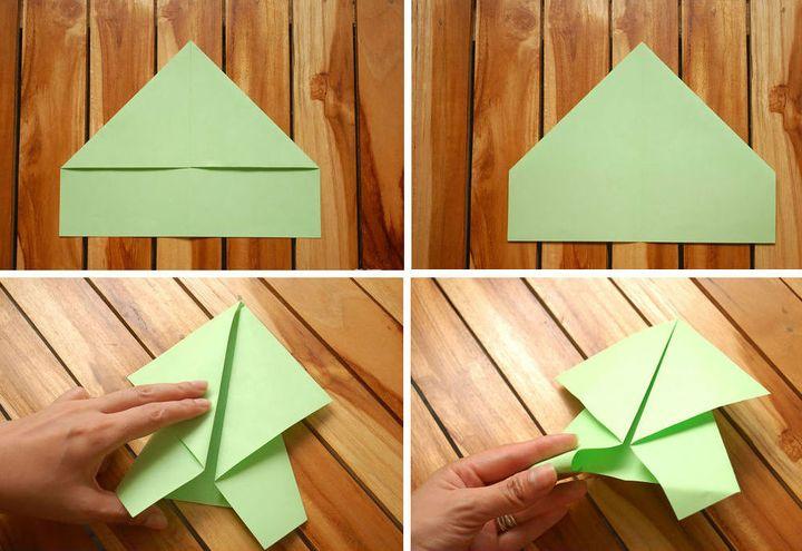Простая модель оригами-черепахи №2