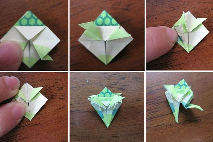 Объемная оригами-черепаха