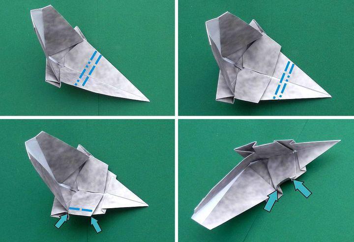Мастер-класс по сборке фигурки оригами-носорога для бумажного зоопарка