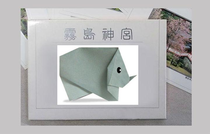 Оригами-носорог