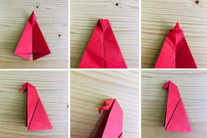 Мастер-класс по изготовлению оригами-орла для начинающих №2