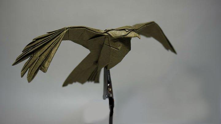 Оригами-орел №1