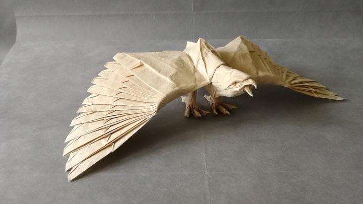 Оригами-орел №2